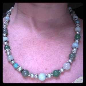 Jade Greens Turquoise Necklace